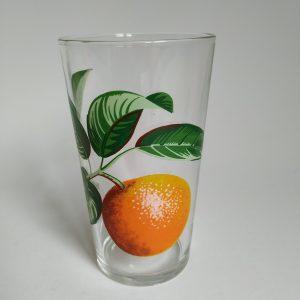Vintage glas sinaasappel