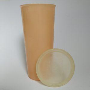 Vintage Beker Tupperware met deksel