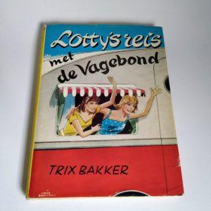 Vintage Boek Lotty's Reis met de Vagebond
