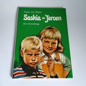 Vintage Boek Saskia en Jeroen de Tweeling