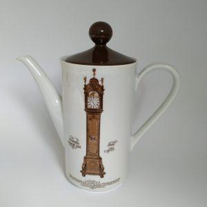 Vintage Koffiepot Klokkenservies Jaren 70