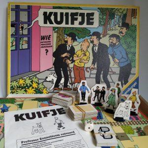 Vintage Spel Kuifje Ravensburger