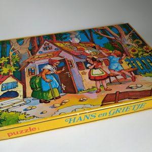 Vintage Puzzel Hans en Grietje