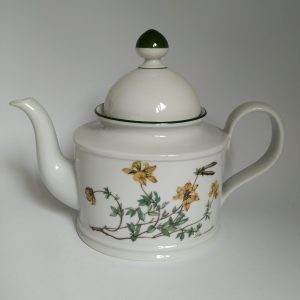 Vintage Theepot Seltmann Weiden Bavaria Flora