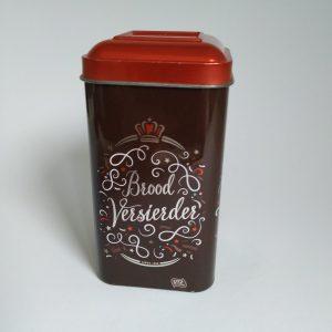 Blikje de Ruijter Chocoladehagel Puur