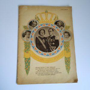 Vintage Gedenkalbum Juliana & Bernhard 12,5 jaar getrouwd