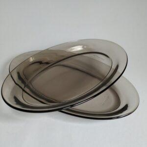 Vintage ovale schaaltjes van Arcoroc France