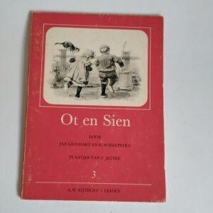 Vintage Boek Ot en Sien uit 1975