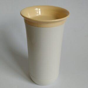 Vintage melkopschuimer van Tupperware