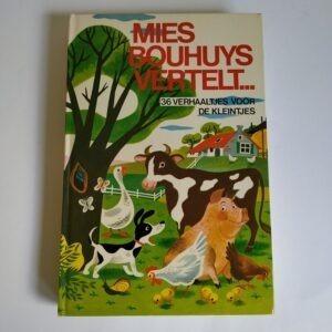 Vintage boek Mies Bouhuys vertelt...