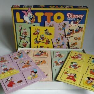 Vintage Lotto Disney Babies van Jumbo uit 1987